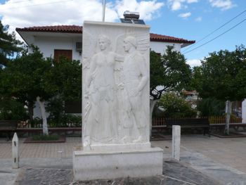 Monument Aghios Andreas