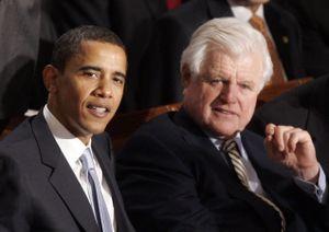 President Obama_Senator Kennedy